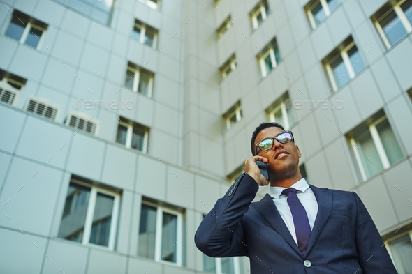 Busy agent - Stock Photo - Images