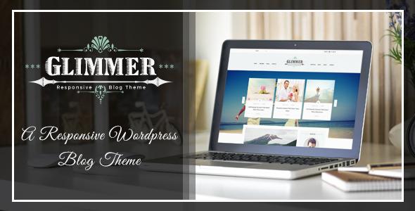 Glimmer – A Responsive Drupal Blog Theme