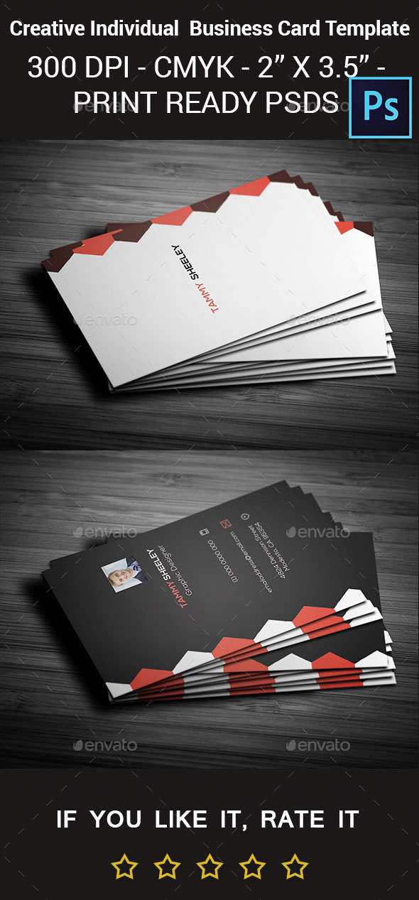 Creative Personal Business Card Template By Arnabkumar GraphicRiver - Personal business cards template