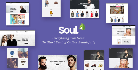Image of Soul - Responsive Multi-purpose Shopify Theme