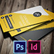Personal Business Card Template - GraphicRiver Item for Sale