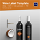 Wine Label Template  - GraphicRiver Item for Sale