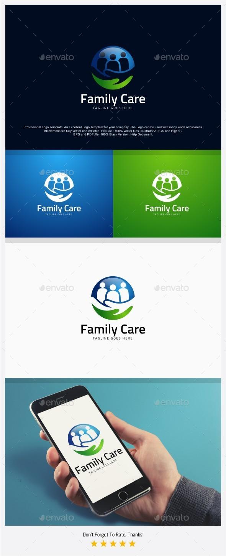 Family Care Center Logo - Humans Logo Templates