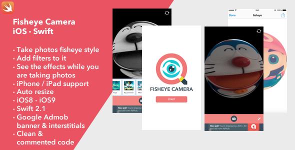 Fisheye Camera iOS - CodeCanyon Item for Sale