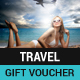Travel Gift Voucher - GraphicRiver Item for Sale