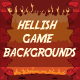 Hellish Game Backgrounds - GraphicRiver Item for Sale