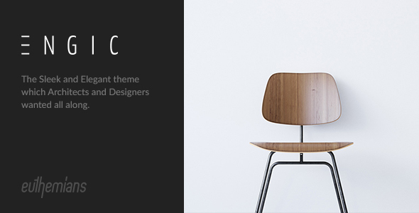 Engic – A Sleek Multiuse WP Theme for Architects