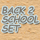 Back to School Web Elements - GraphicRiver Item for Sale