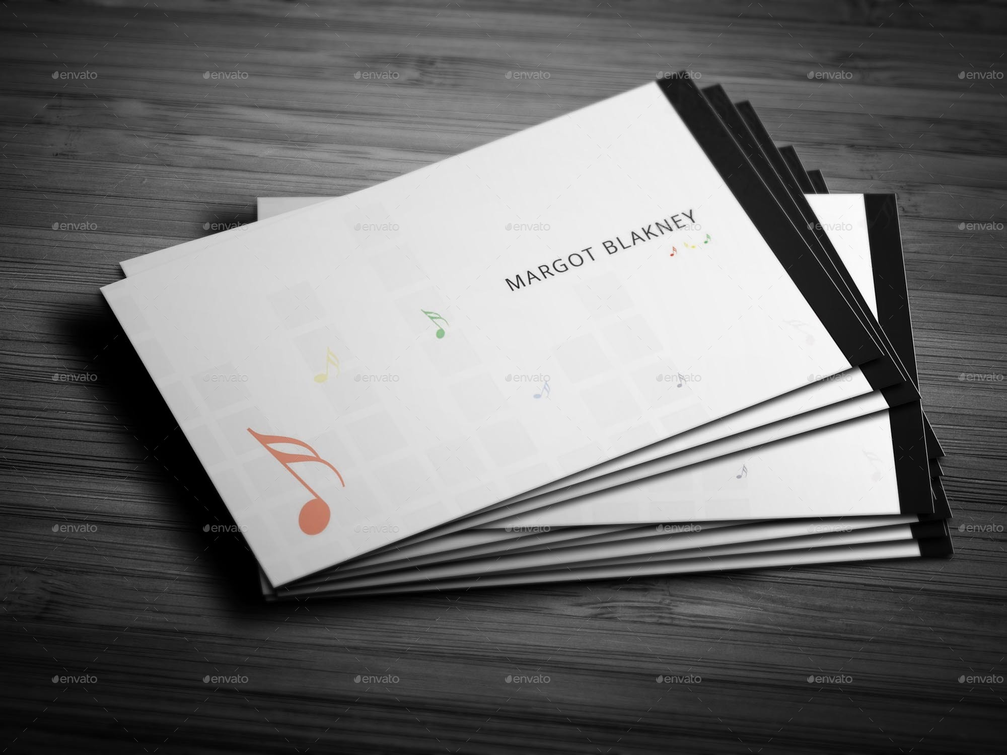 Classic Music Creative Business Card