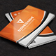 Orange Creative Business Card - GraphicRiver Item for Sale
