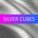 Shiny Silver Cubes Background - VideoHive Item for Sale