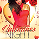 Valentines Night - Flyer Template - GraphicRiver Item for Sale