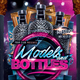 Models and Bottles Flyer - GraphicRiver Item for Sale