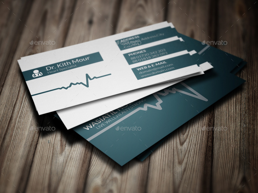 Physician Business Cards Templates Zazzle Online Print Templates