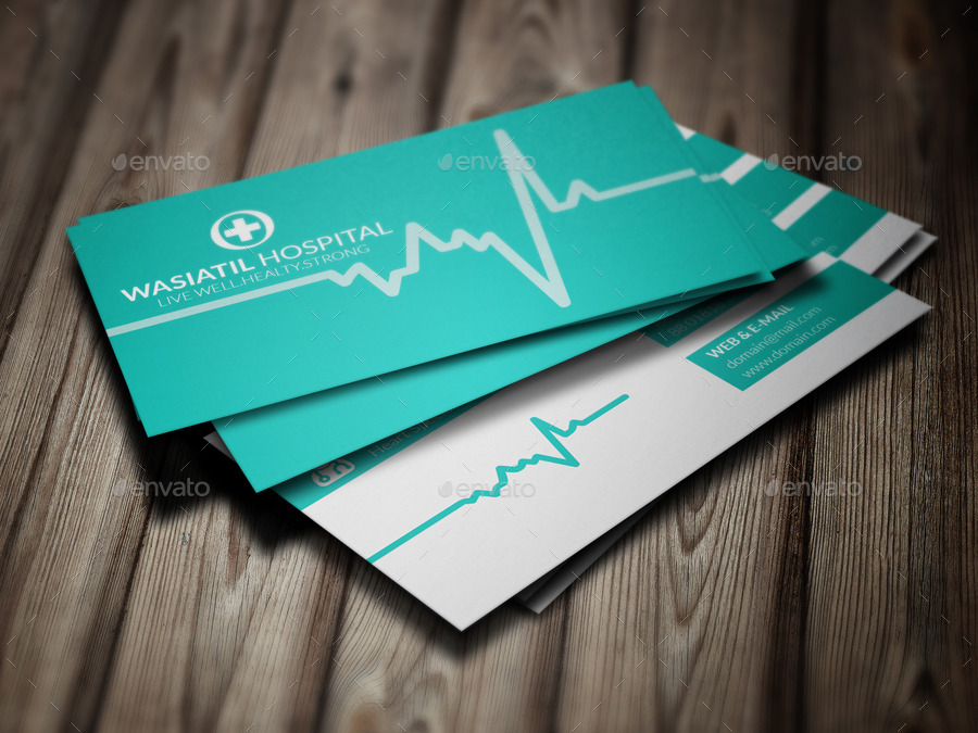Doctor Business Card By Jannatennayem  Graphicriver