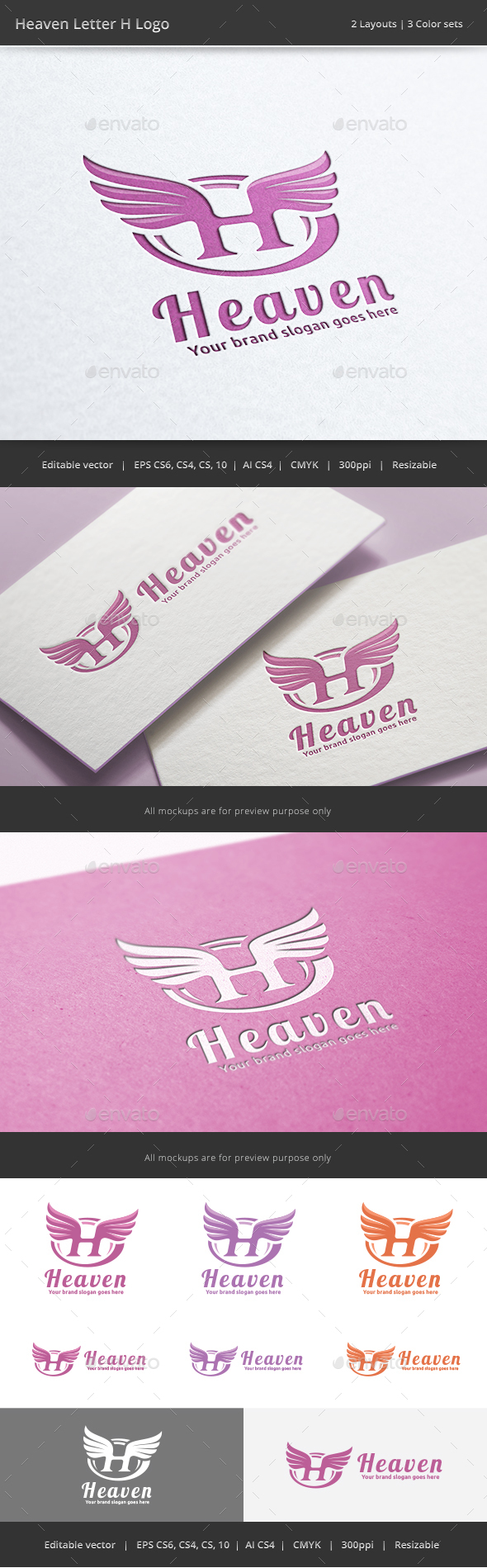 Letter H Graphics, Designs & Templates from GraphicRiver