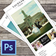 Wedding Photography Rack Card Template - GraphicRiver Item for Sale