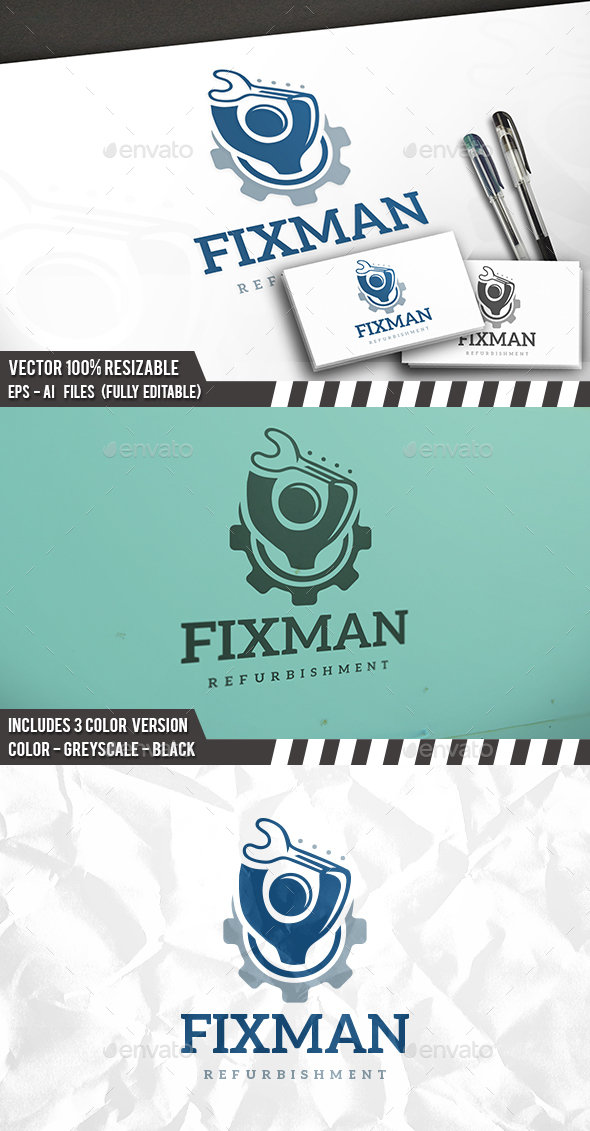 Handyman Logo - Humans Logo Templates
