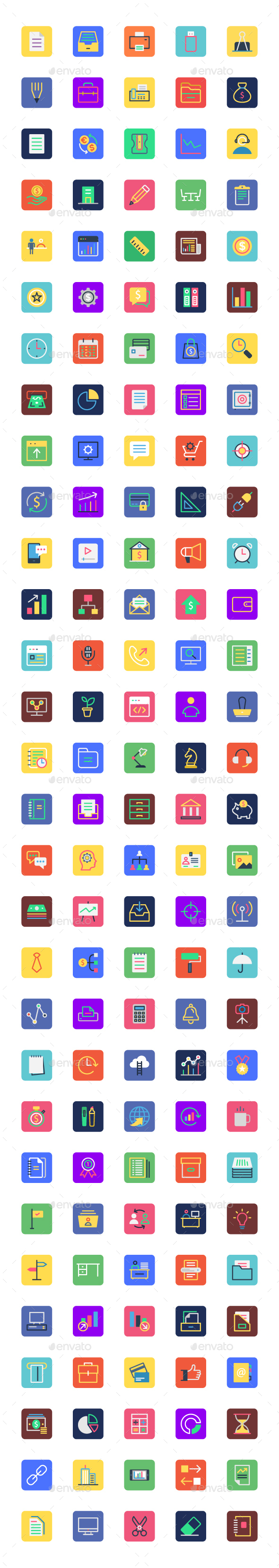 Business, Office and Marketing Icons - Icons