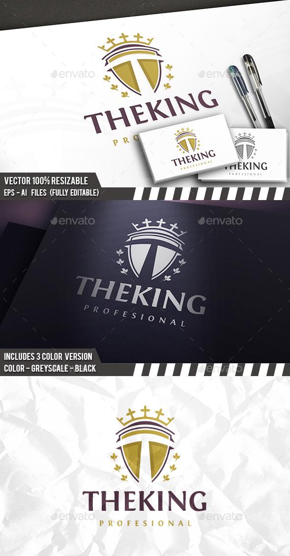 T Letter Royal Logo - Letters Logo Templates