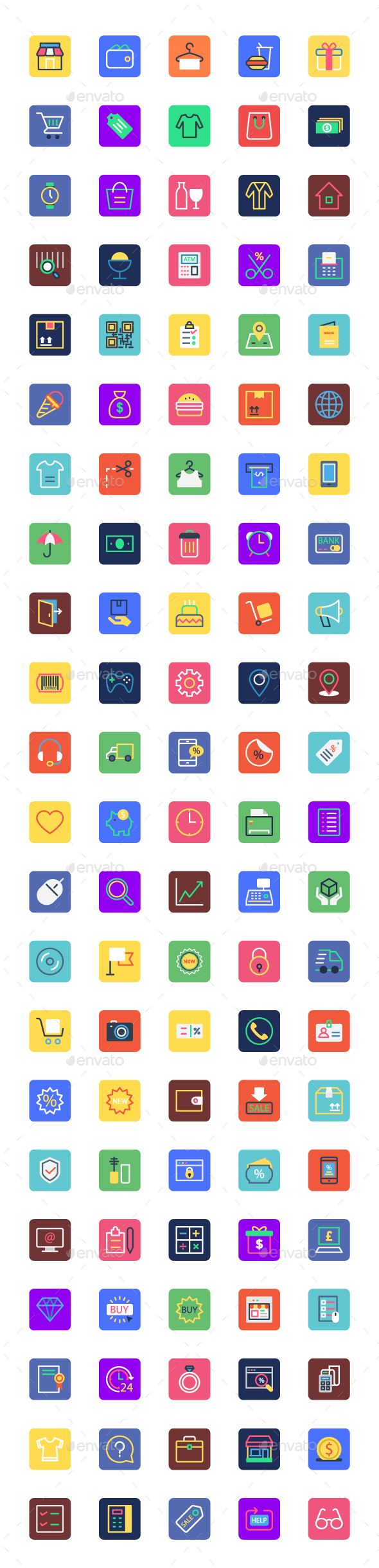 100+ Shopping and Commerce Icons - Icons