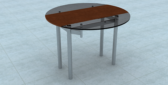 Tea table - 3DOcean Item for Sale