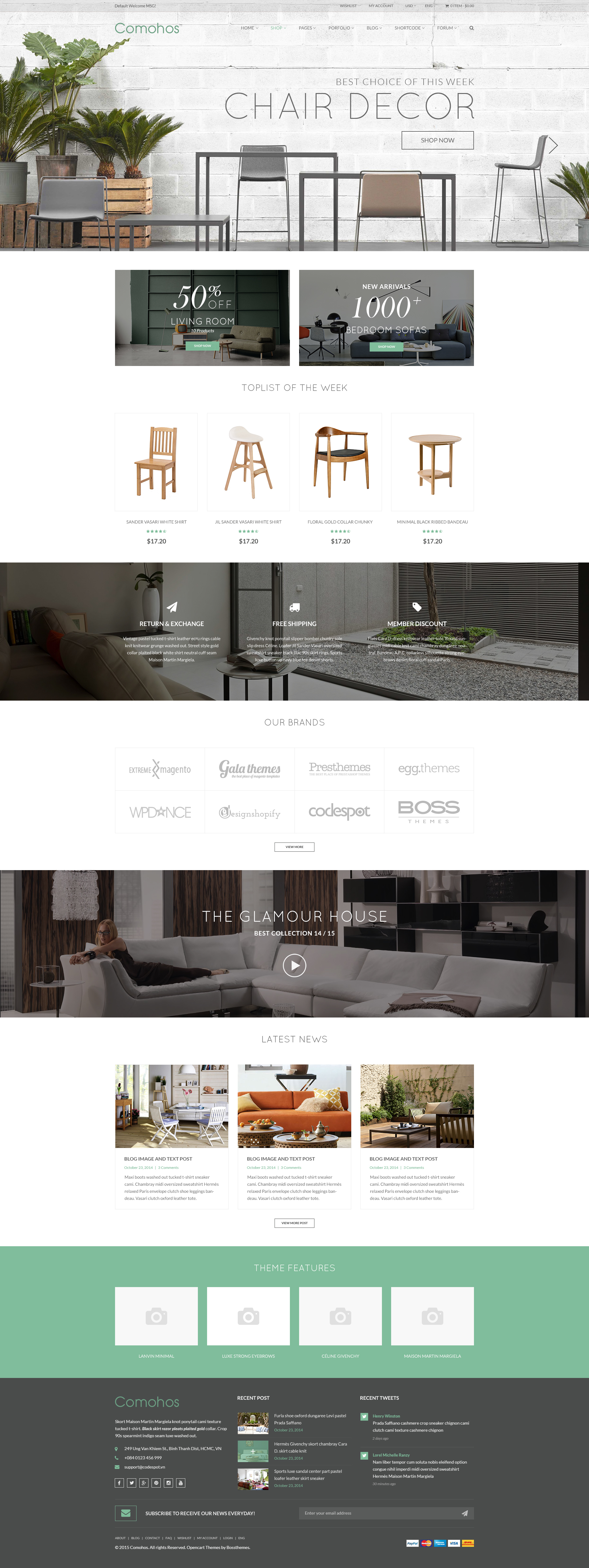 Comohos - MultiPurpose eCommerce HTML5 Template by tvlgiao ...