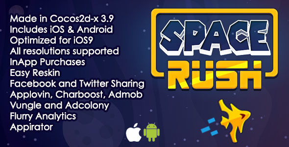 Space Rush - CodeCanyon Item for Sale