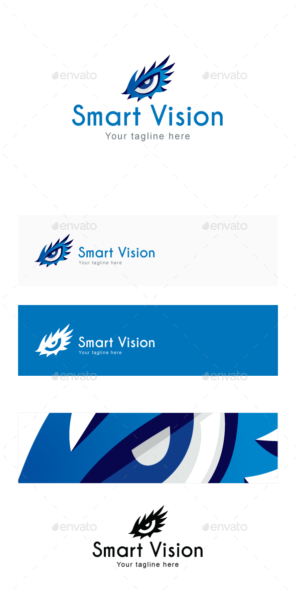 Smart Vision Logo Template - Objects Logo Templates