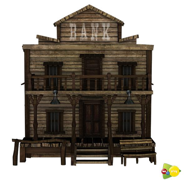 Western Bank - 3DOcean Item for Sale