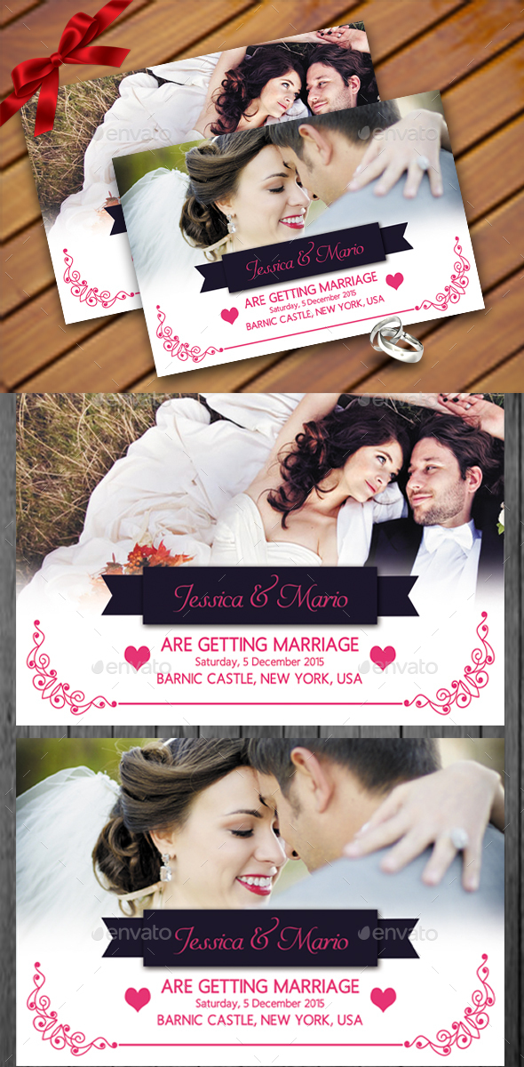 Save The Date Invitation - Weddings Cards & Invites