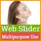 Web Slider Design - GraphicRiver Item for Sale