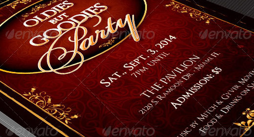 Events Print Templates