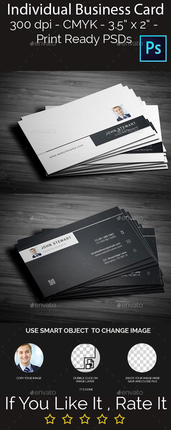 Individual Business Card - Creative Business Cards