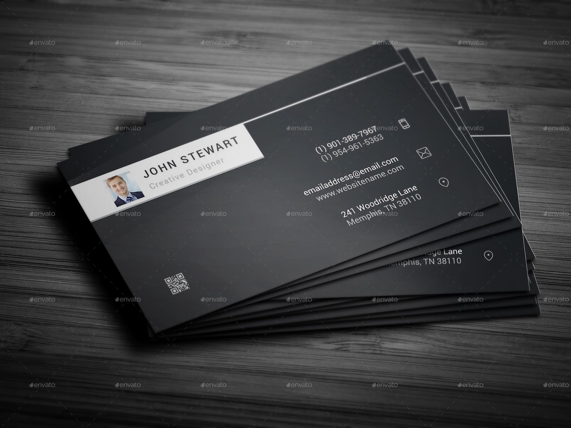 Individual Business Card by arnabkumar