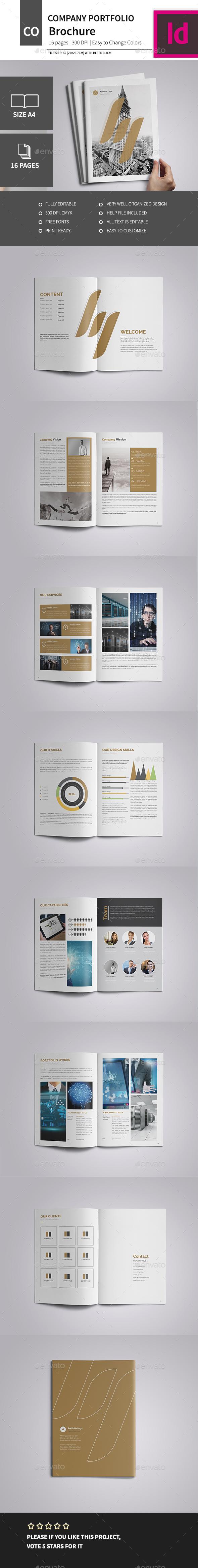 A4 Corporate Business Brochure 2016 - Corporate Brochures