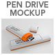 Pen Drive Mockup - GraphicRiver Item for Sale