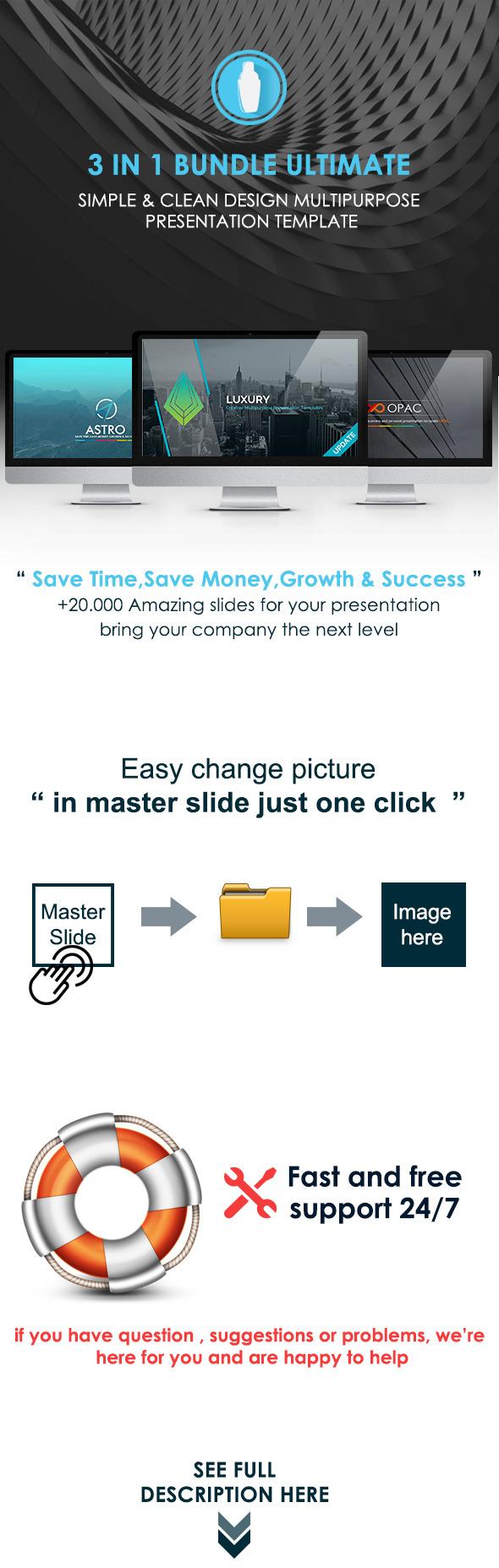 Ultimate Bundle Multipurpose Presentation Template - Creative PowerPoint Templates