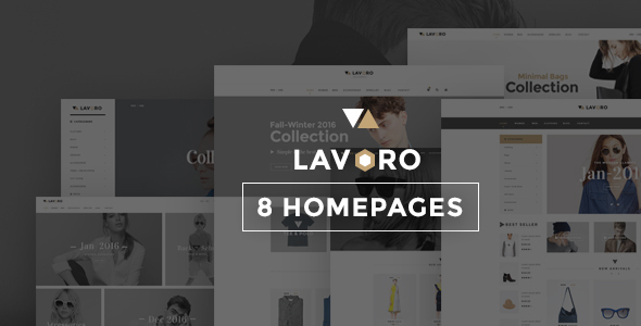 Lavoro – Fashion Shop Bootstrap Template