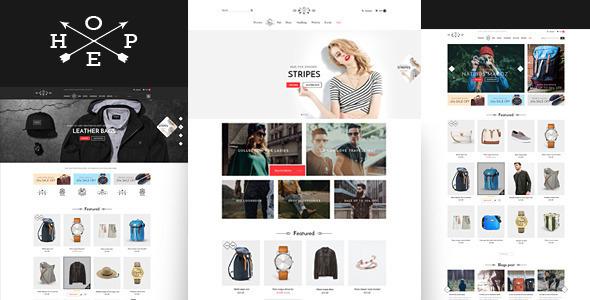 Hope- Responsive eCommerce Bootstrap Template
