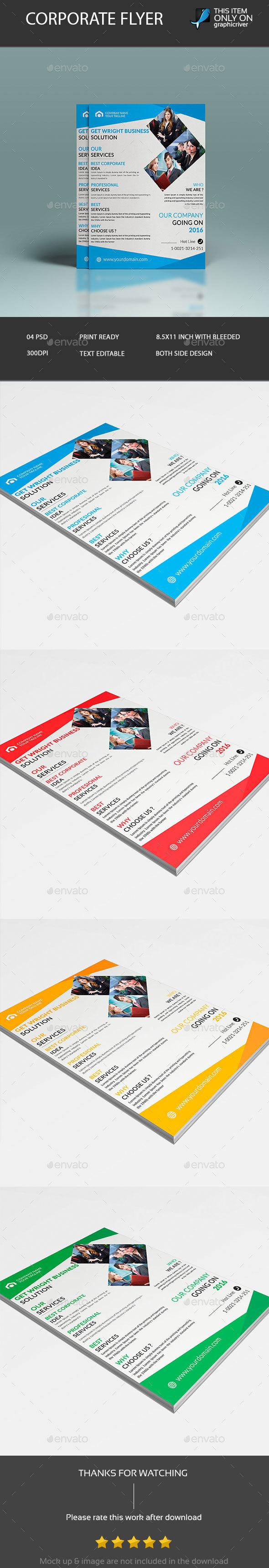 Corporate Flyer Design - Corporate Flyers