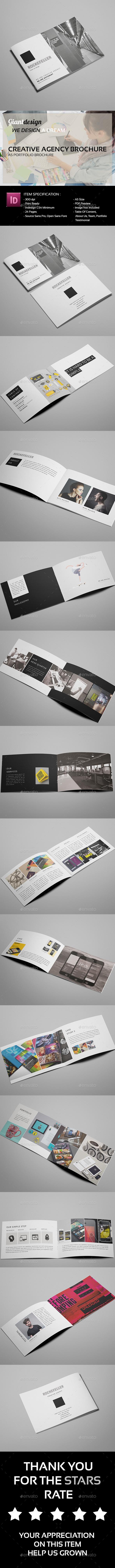 Creative Agency Brochure - Portfolio Brochures