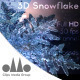 3D Realistic Snowflake - VideoHive Item for Sale