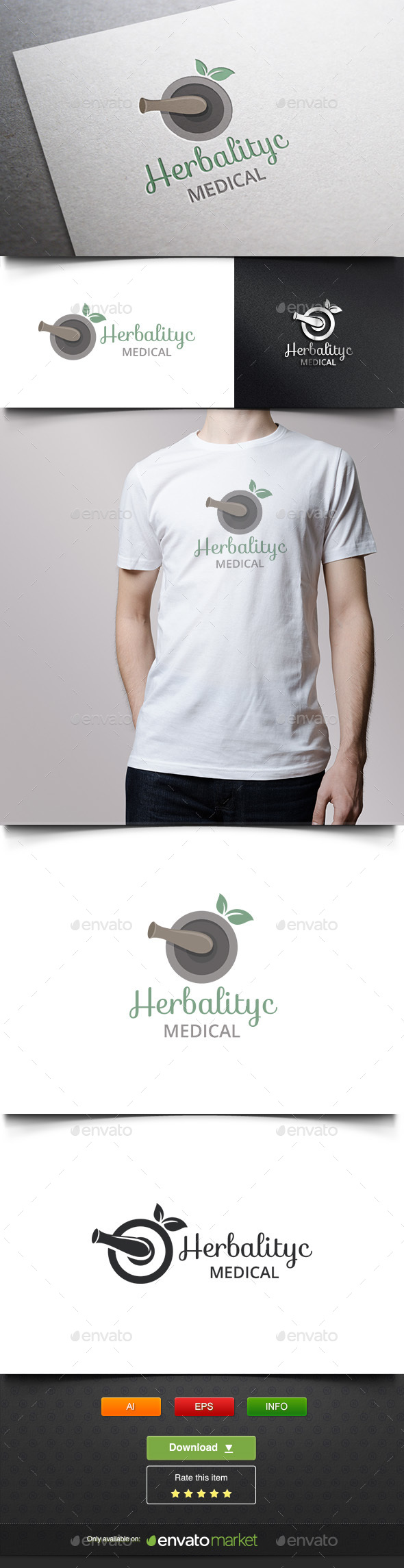 Herbal Medic - Objects Logo Templates