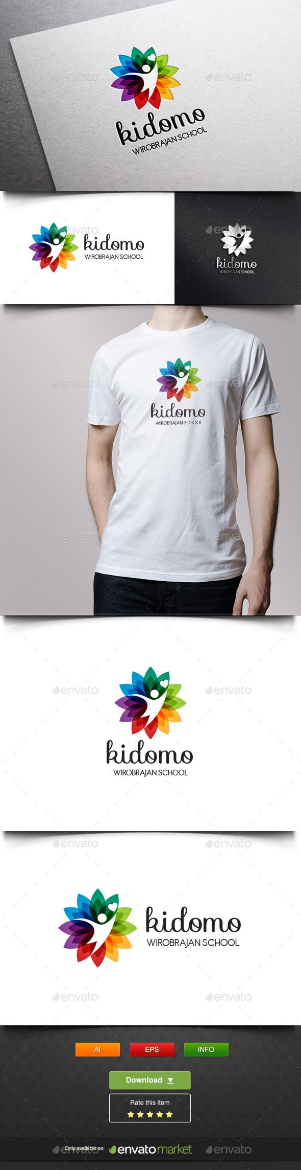 Kidomo - Humans Logo Templates