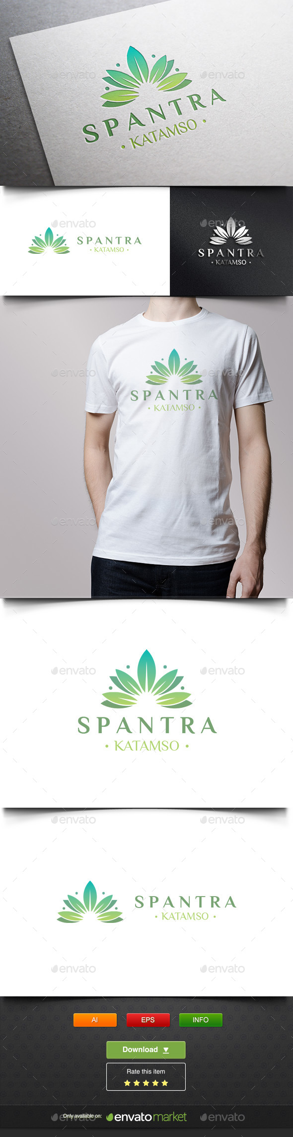 Spantra - Nature Logo Templates