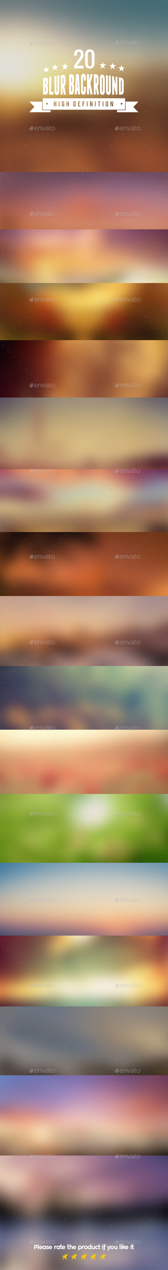 20 Blurred Backgrounds High Definition - Backgrounds Graphics