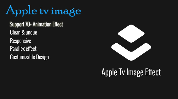 Layer - Apple Tv  Image Effect Extension - CodeCanyon Item for Sale