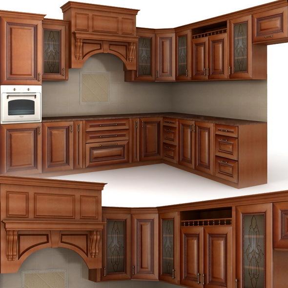 Classical cusine - 3DOcean Item for Sale