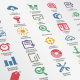 New! Modern SEO Icons - GraphicRiver Item for Sale
